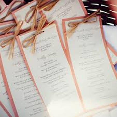 How To Make Wedding Ceremony Programs 6 Ideas