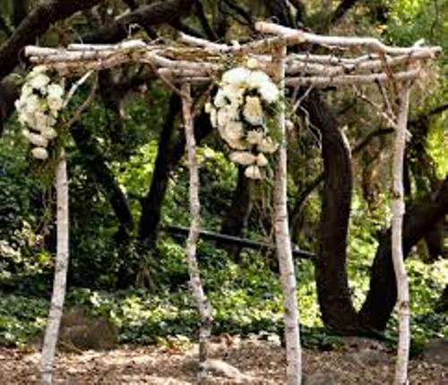 Wedding Altar Trees: How To Make A Wedding Arch Out Of Wood: 4 Guides
