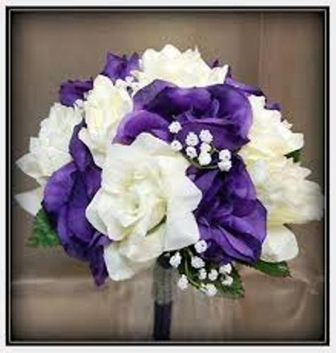 Making A Wedding Bouquet With Silk Flowers: How To Make A Wedding Bouquet Out Of Silk Flowers: 4 Steps