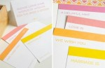 How To Make Wedding Advice Cards: 6 Ideas To Make The Scroll Wedding Cards