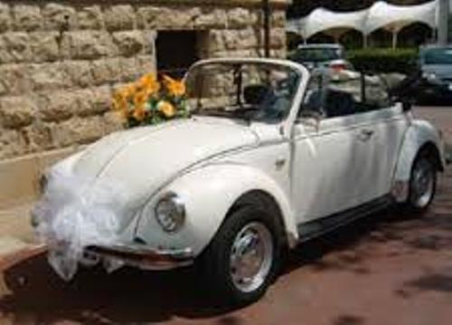 Arrange Wedding Car in Cute Style