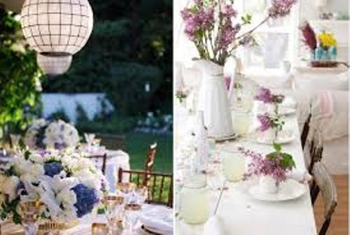 Decorative Wedding at Home