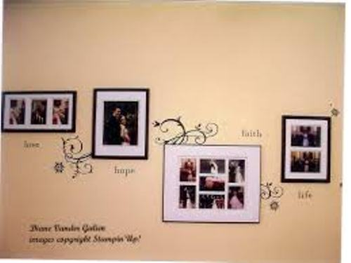 How To Arrange Wedding Pictures on the Wall