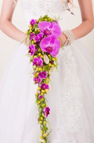 Cascading Wedding Bouquet-