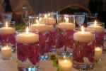 How To Make Wedding Centerpieces With Submerged Flowers: 4 Ideas