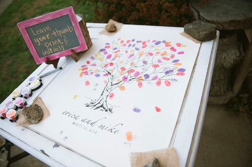 How to Create Wedding Guest Book  Pic