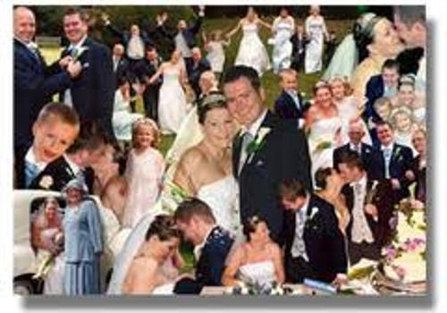 How to Create Wedding Photo Montage Pic