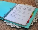 How To Create A Wedding Planning Binder: 4 Ideas