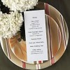 How To Create A Wedding Reception Menu: 6 Tips