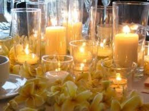 How to Make Wedding Centerpieces with Candles