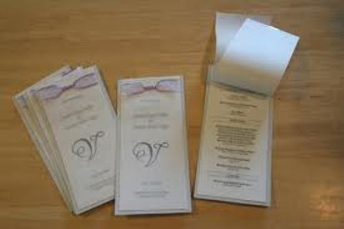 how to make a wedding program juve cenitdelacabrera co