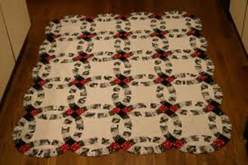 How to Make Wedding Ring Quilt Ideas