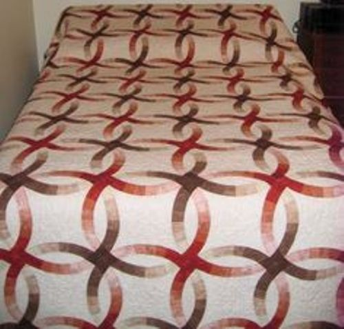 How to Make Wedding Ring Quilt  Pic