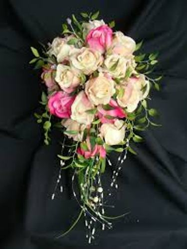 making wedding bouquets fresh flowers how to make a wedding bouquet out of silk flowers 4 steps 5680