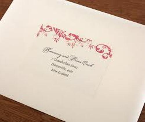 Nice Wedding Address Labels