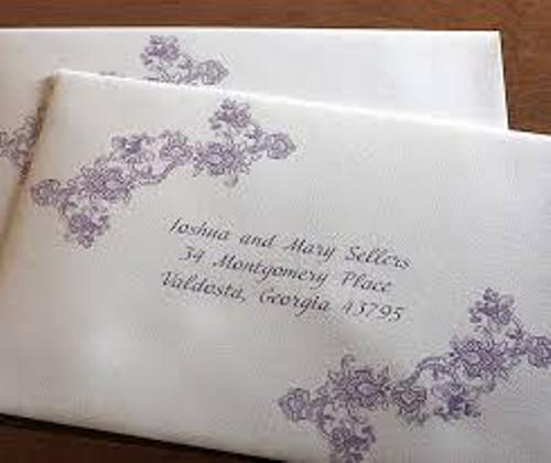 Purple Address Labels