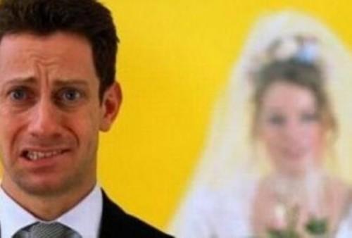 Wedding Day Jitters Groom