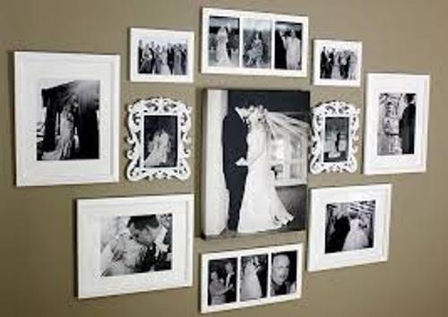 Wedding Pictures on the Wall Style