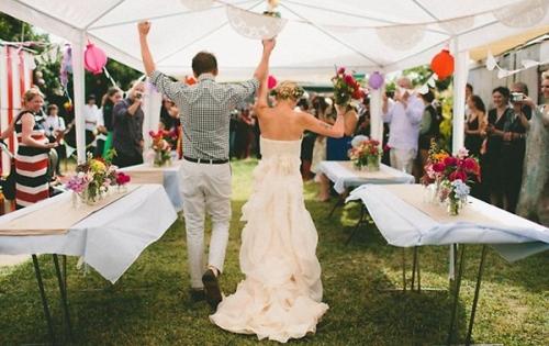 Wedding at Home